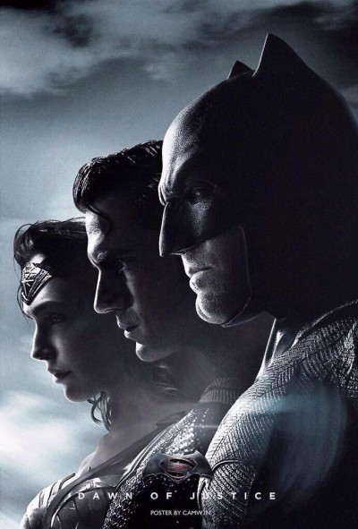 Batman v. Superman Dawn of Justice Reveals Their Trinity In New Character Posters!