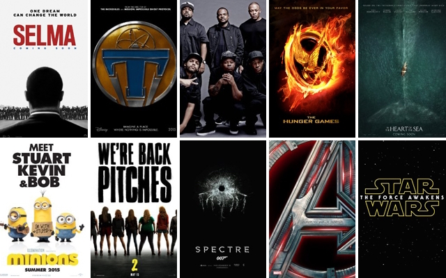 Trilogy Spoilers! – Top 3 Best Movies of 2015
