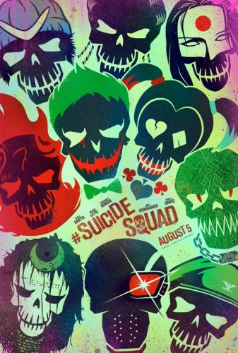 With New Artwork Comes the Promise of a New Trailer Tomorrow for the Suicide Squad!