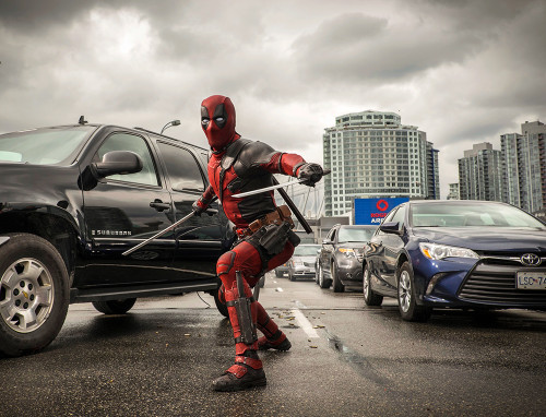 Look At These Incredible, Previously Unreleased On-Set Photographs from DEADPOOL