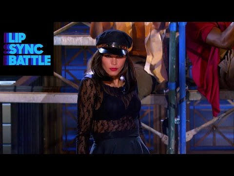 Part Two Lip Sync Battle: Jenna VS Channing And This Time Jenna's Got The Big Surprise!