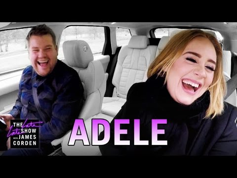 Watch Adele And James Corden Rock Out To The Spice Girls On Carpool Karaoke!