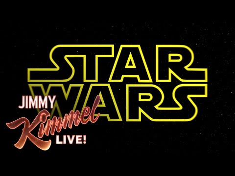 "Jimmy Kimmel Presents ""Star Wars: The Force Awakens"" Altered for a Men's Rights Group"