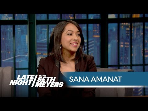 Marvel's Sana Amanat Talks About Ms. Marvel And Authenticity On Late Night With Seth Myers