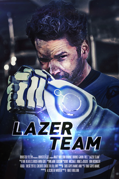 Movie Review: LAZER TEAM from Rooster Teeth