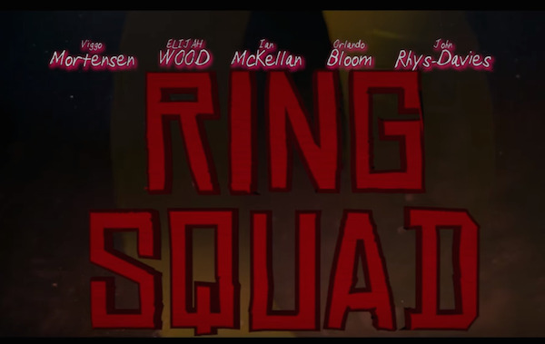 RING SQUAD: Lord of the Rings Trilogy Mashed Up into Suicide Squad Style Trailer