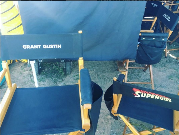 Supergirl and The Flash Seen Together for the First Time!