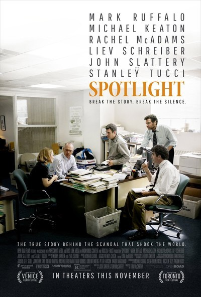 Movie Review – Oscar Winner for Best Picture 'SPOTLIGHT'