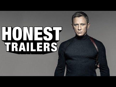 Honest Trailers Serves Up James Bond Film 'Spectre' – Shaken AND Stirred