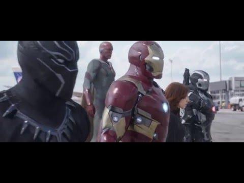 New Trailer for Captain America: Civil War Bucky Tries to Shoot Stark!
