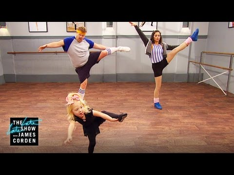 Jenna Dewan Tatum And James Corden Work With The Hardest Choreographers In The Biz….Toddlers!