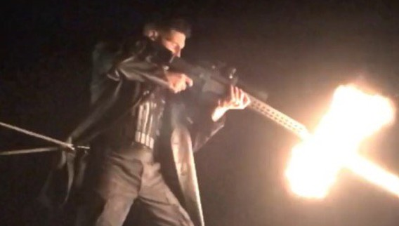 Behind-the-Scenes Look at Bernthal as Punisher is Dead On!