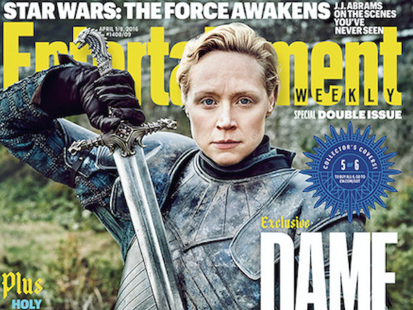 Check Out These 6 Gorgeous EW Covers Featuring the Badass Women from Game of Thrones Season 6