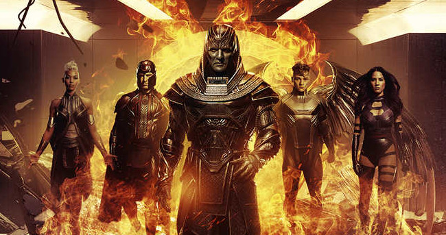 X-Men: Apocalypse Pic Shows Apocalypse and His Horsemen Walking Away from Explosions