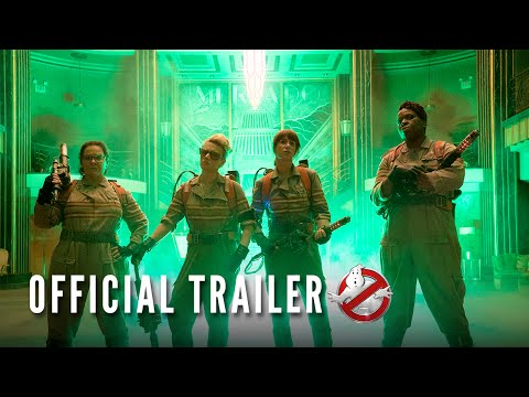 It's The Official Trailer For Ghostbusters!!!