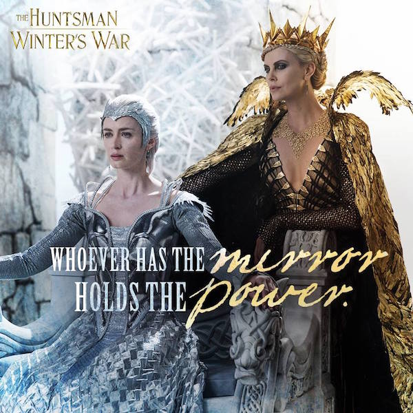 GGA GIVEAWAY: Win This Amazing THE HUNTSMAN: WINTER'S WAR Prize Pack!