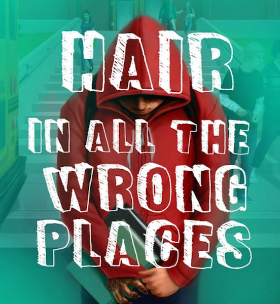 Author Andrew Buckley Reveals Cover Art and Release Date for 'Hair in All the Wrong Places'