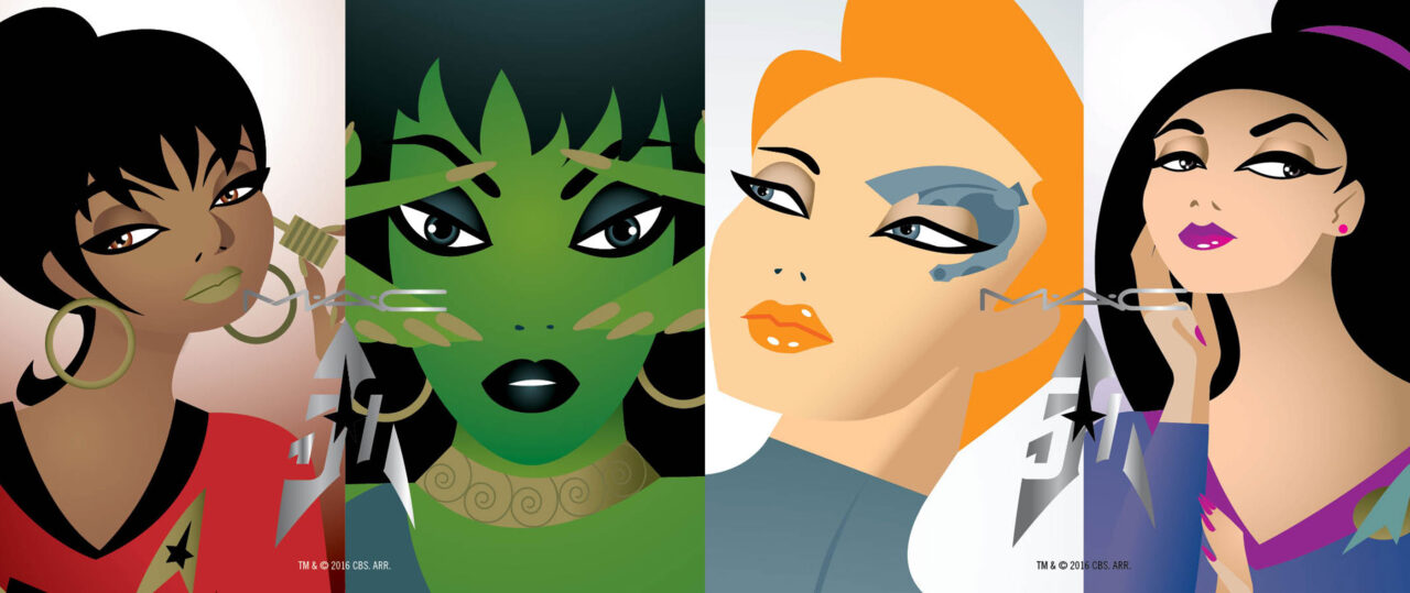 MAC Cosmetics To Celebrate The 50th Anniversary Of Star Trek With A Line Of Makeup!