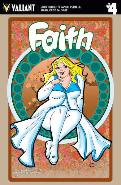 Preview of Valiant Comics' 'Faith #4'