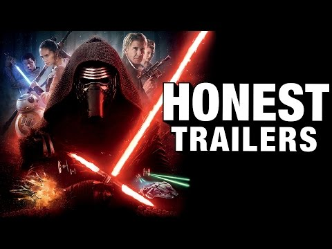 There's a Star Wars: The Force Awakens Honest Trailer!