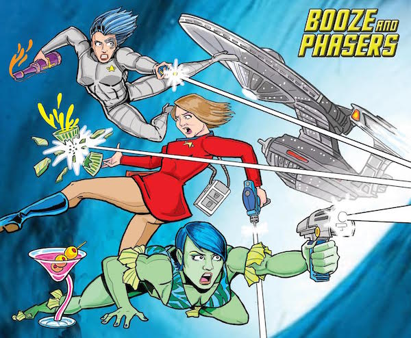 Ep 2: Favorite Captains with Special Guest Brian Bradley on BOOZE AND PHASERS