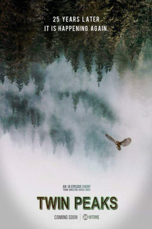 Brand New Poster For The Twin Peaks Revival Released!