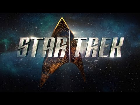 CBS REVEALS NEW STAR TREK SERIES' FIRST LOOK TEASER AND LOGO!!!