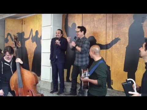 Happy Star Wars Day! Here's Your Jabba Flow With Lin-Manuel Miranda & J.J. Abrams!