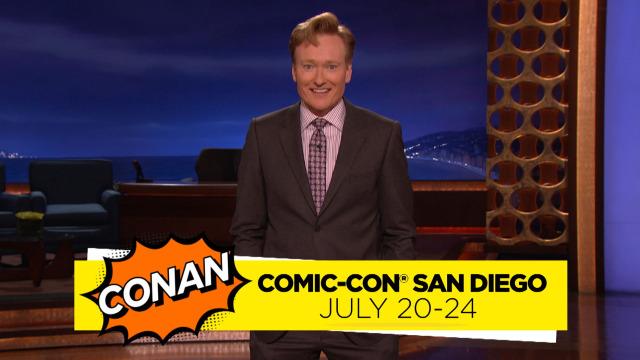 Top 5 Favorite #ConanCon Moments At San Diego Comic-Con!
