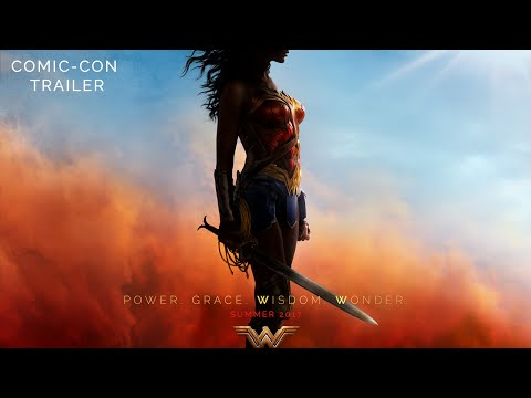 FINALLY! A WONDER WOMAN MOVIE! AND THE TRAILER IS CHEERWORTHY!