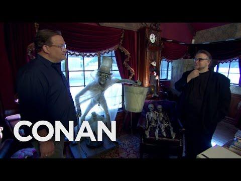 Andy Richter Goes Inside Guillermo Del Toro's Bleak House!