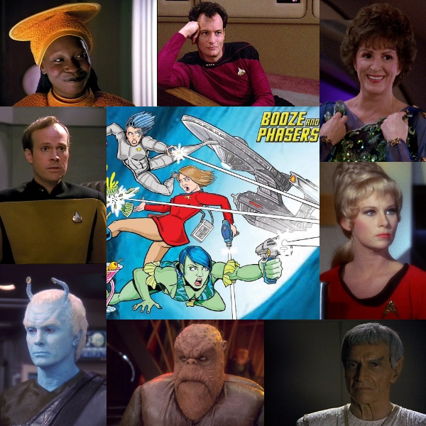 Ep 5 – Guest Josh Flaum and Fave Star Trek Recurring Characters on BOOZE AND PHASERS