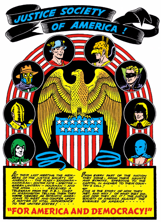 GET YOUR FIRST LOOK AT THE LOGO FOR THE JUSTICE SOCIETY OF AMERICA ON LEGENDS OF TOMORROW!