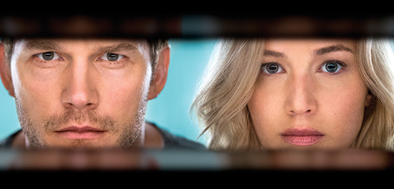 Check Out the First Photos of Jennifer Lawrence & Chris Pratt in 'Passengers'