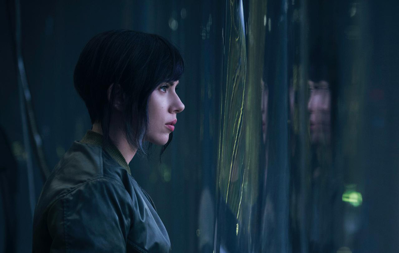 Here is Your New Look at the Live Action 'Ghost in the Shell' Movie