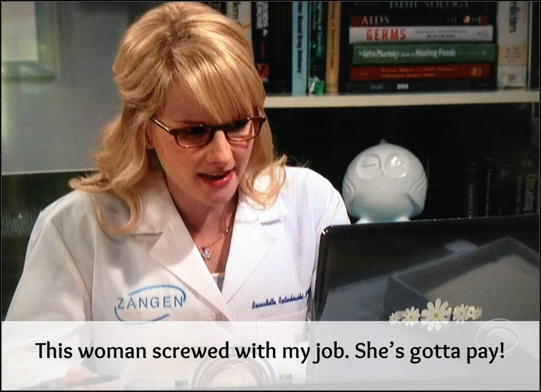 Bernadette Gets Tough on Workplace Gender Inequality (BBT S10E02)