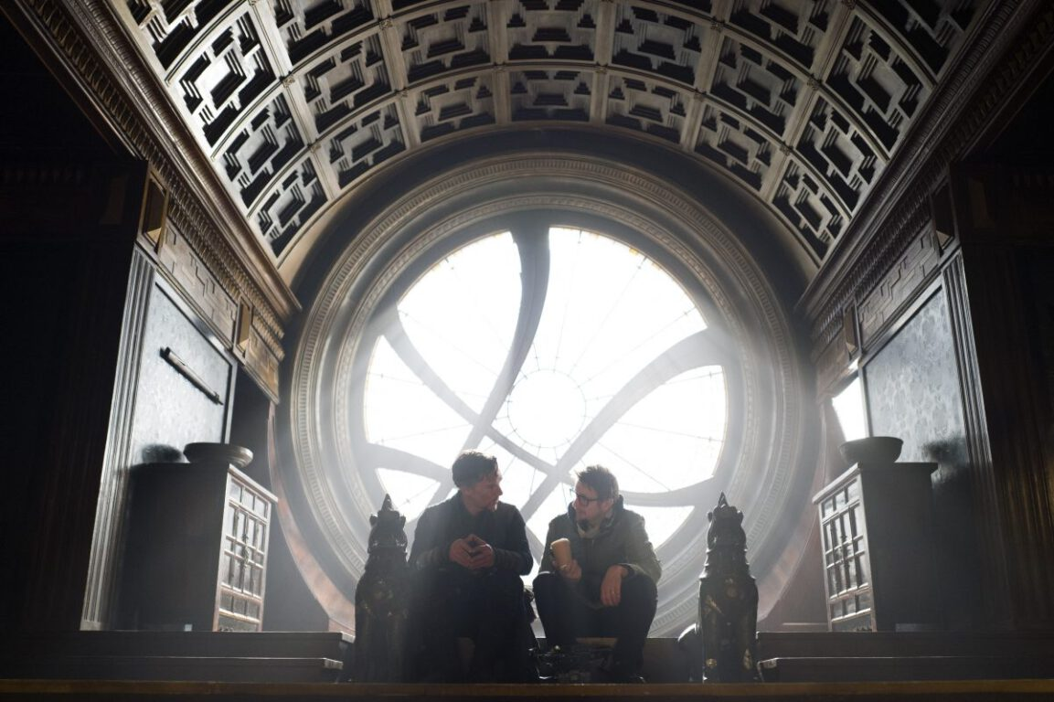AVENGERS: INFINITY WAR Definitively Visiting Sanctum Sanctorum of Doctor Strange