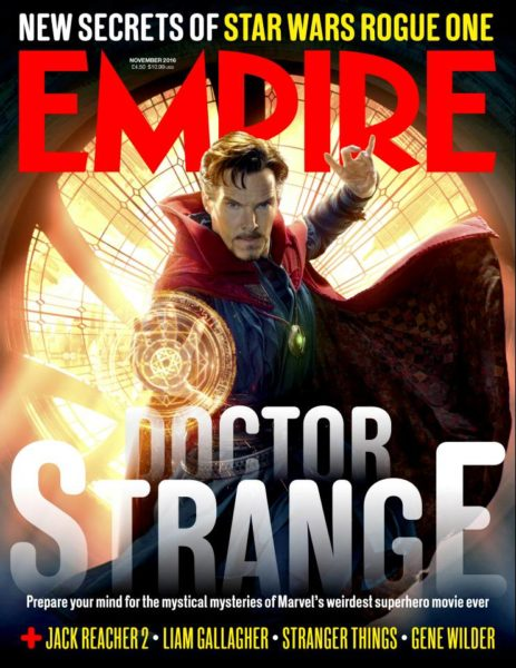 Doctor Strange is Taking Over the Cover to Empire Magazine!
