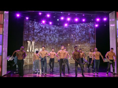 Channing Tatum Previews 'Magic Mike Live' On Ellen And It's Wonderful!
