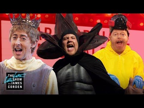 Inappropriate Musicals On The Late Late Show With James Corden…