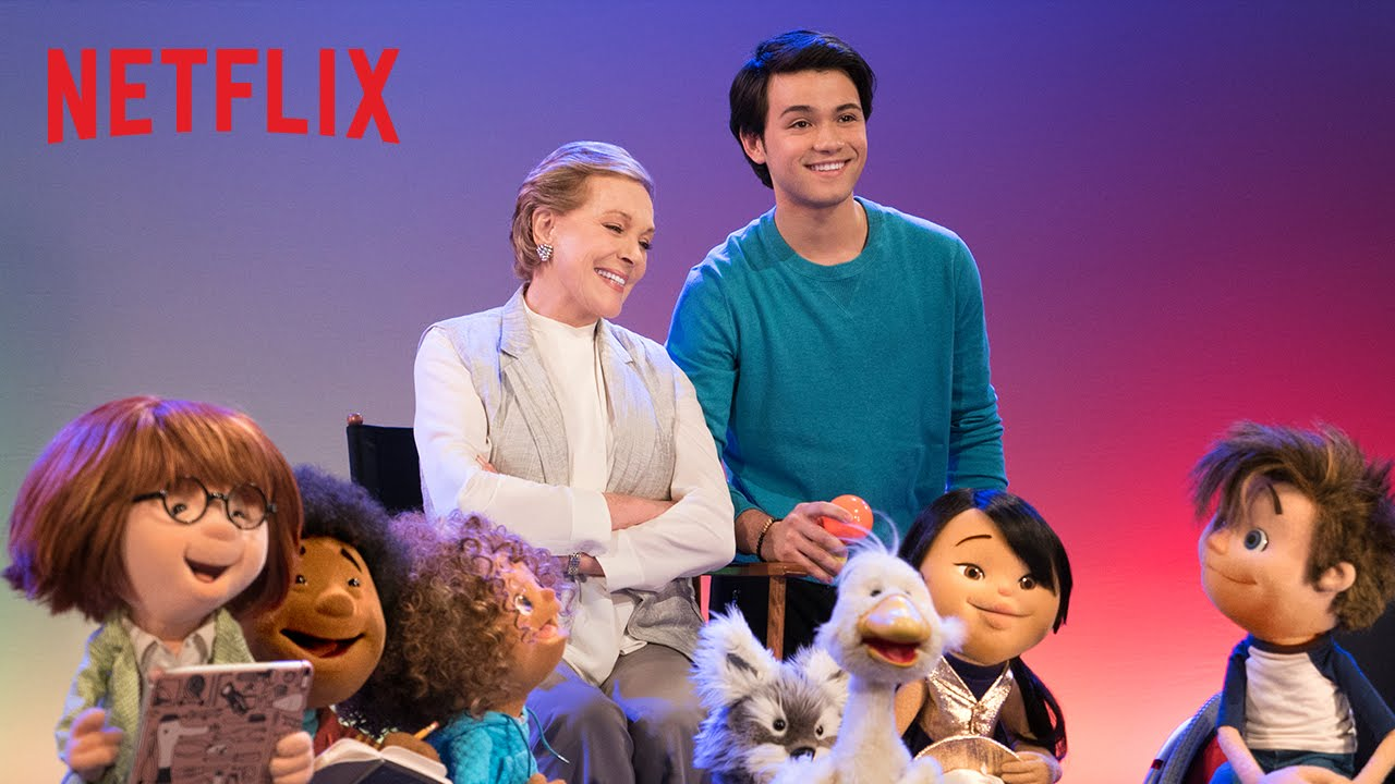 Julie Andrews Is Coming To Netflix!