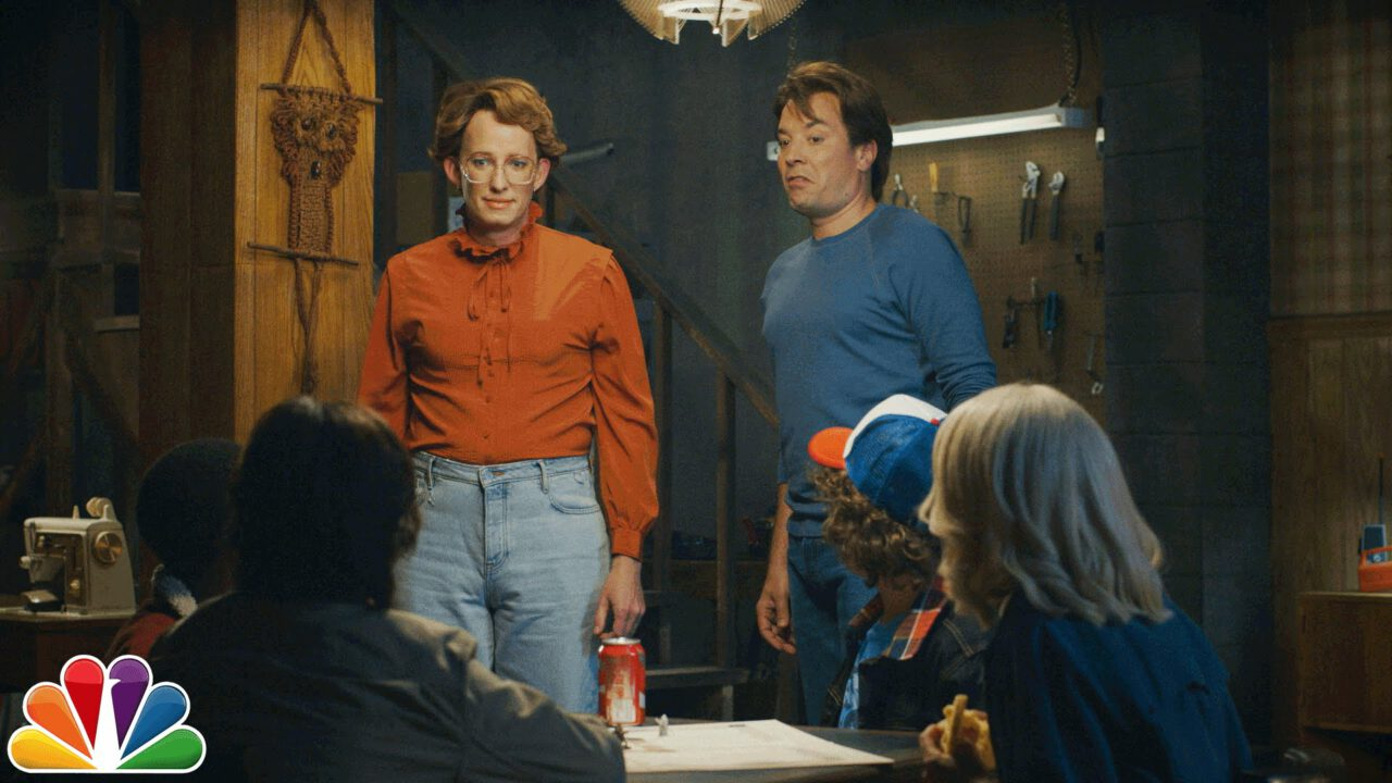 Barb From 'Stranger Things' Returns On The Tonight Show With Jimmy Fallon!