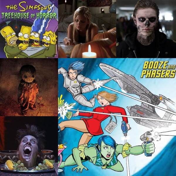 Ep 14 – Favorite Halloween Television Episodes and Movies with Guests Dorina Arellano and Brian D. Bradley