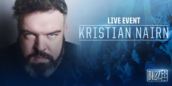 BlizzCon 2016: Kristian Nairn (Hodor) Will DJ The Anniversary Party