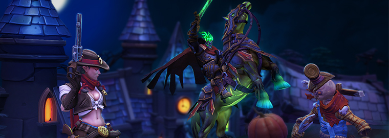 Hallow's End Returns to the Nexus in 'Heroes of the Storm'