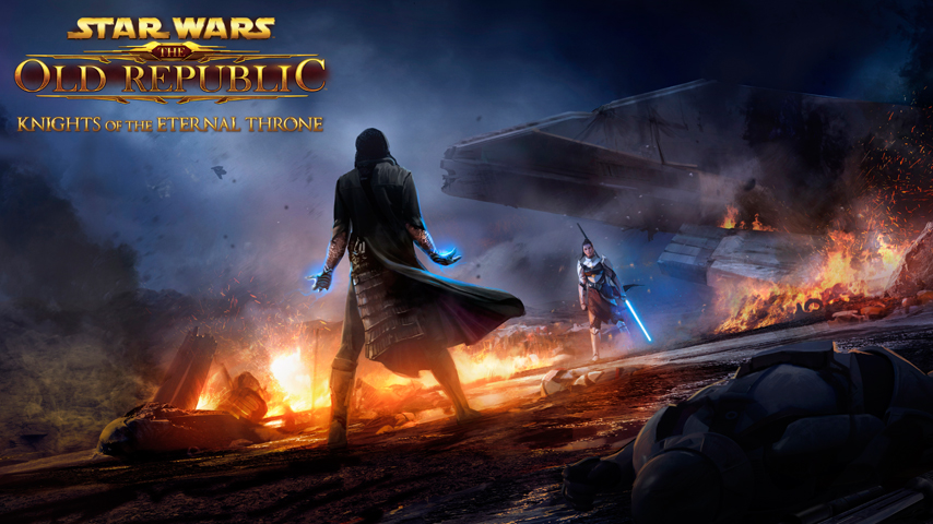 Watch Star Wars The Old Republic Knights Of The Eternal Throne Trailer