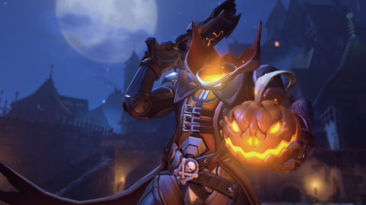 Overwatch Unleashes TERROR-ific Halloween Character Avatars