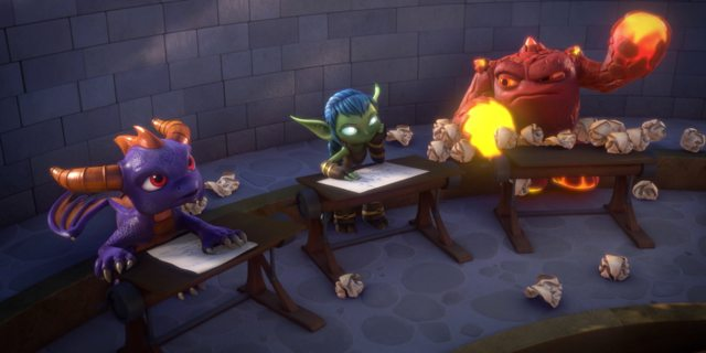 Check Out the First Trailer for 'Skylanders Academy'