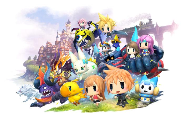 Kingdom Hearts' Sora Coming to World of Final Fantasy