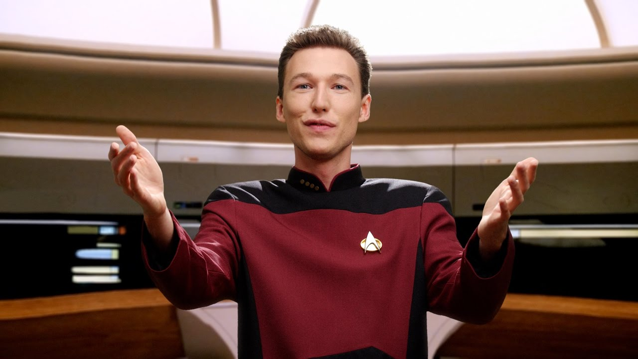 Awesome, Trippy Star Trek Fan Tribute Video 'Data & Picard' Is Perfect